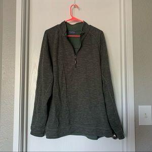 Tommy Bahama Reversible 1/4 Zip Sweatshirt Sz XL